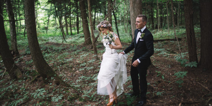 Haliburton Lake Wedding