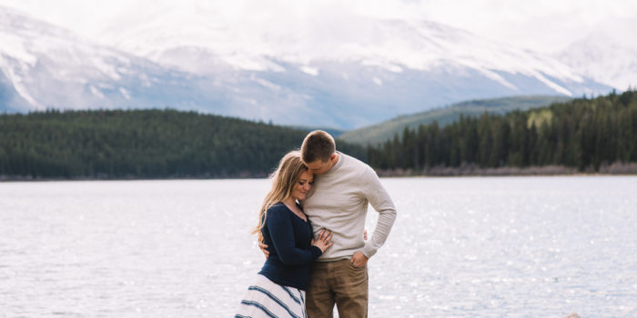 Jasper Lake Engagement