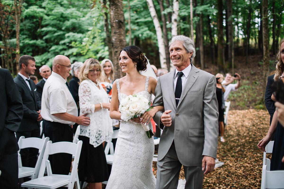 beautiful backyard wedding muskoka haliburton photographer 79