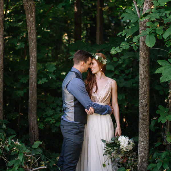 Backyard Cottage Wedding in Bobcaygeon Ontario