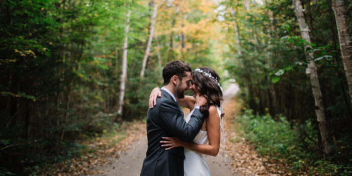 Ski Chalet Wedding in Haliburton
