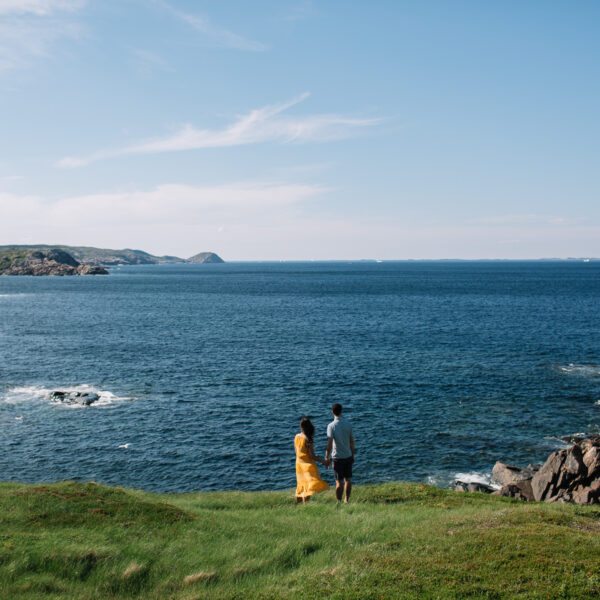 Fogo Island Newfoundland Couple's Session