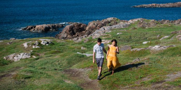 Fogo Island Newfoundland Couple's Session