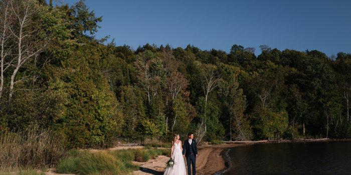 Haliburton Camp Wedding by the Lake