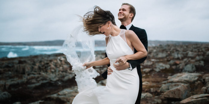 Windy Wedding at Fogo Island Inn